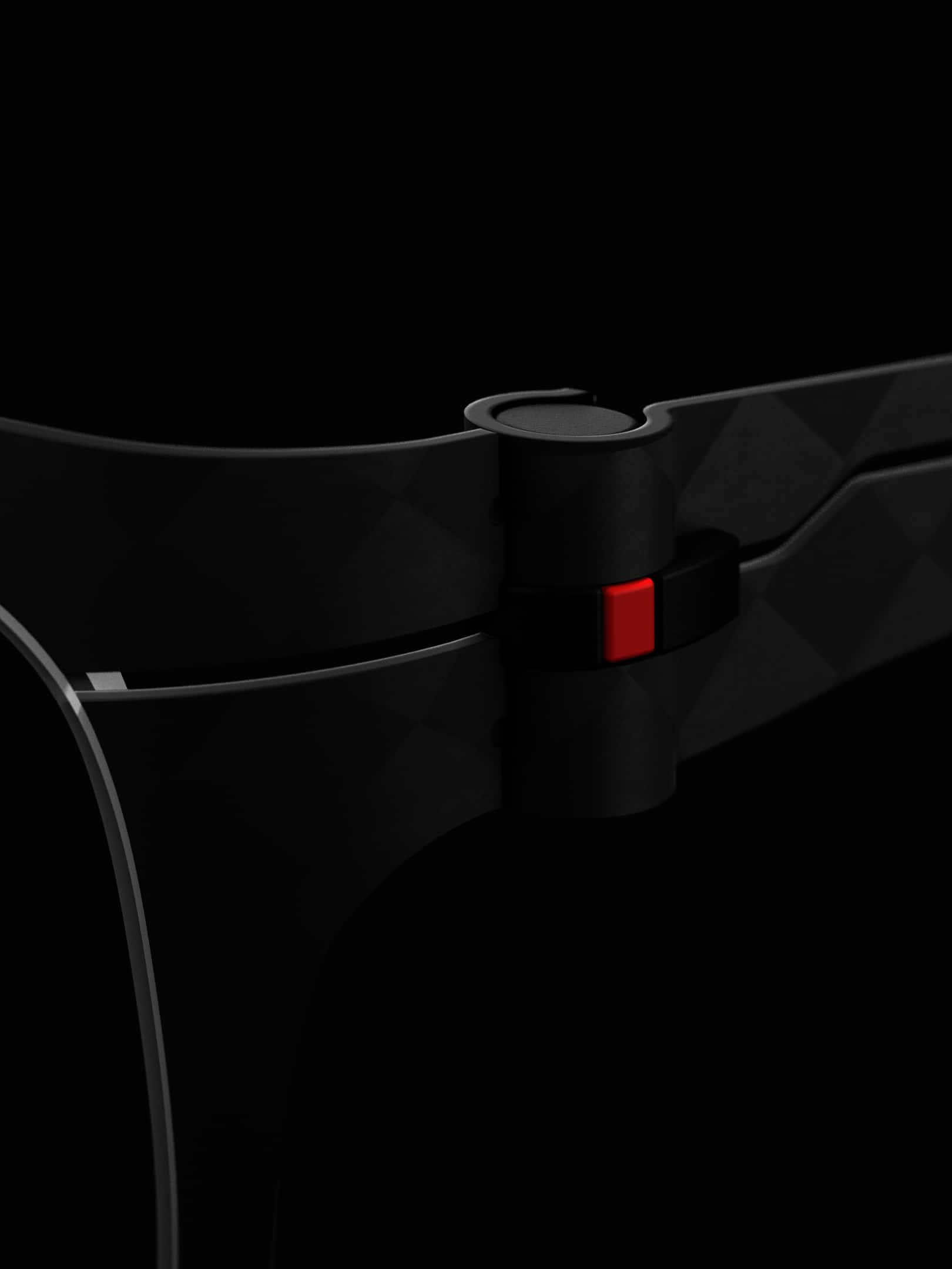 Close-up of Smart Hinge Kerl Eyewear
