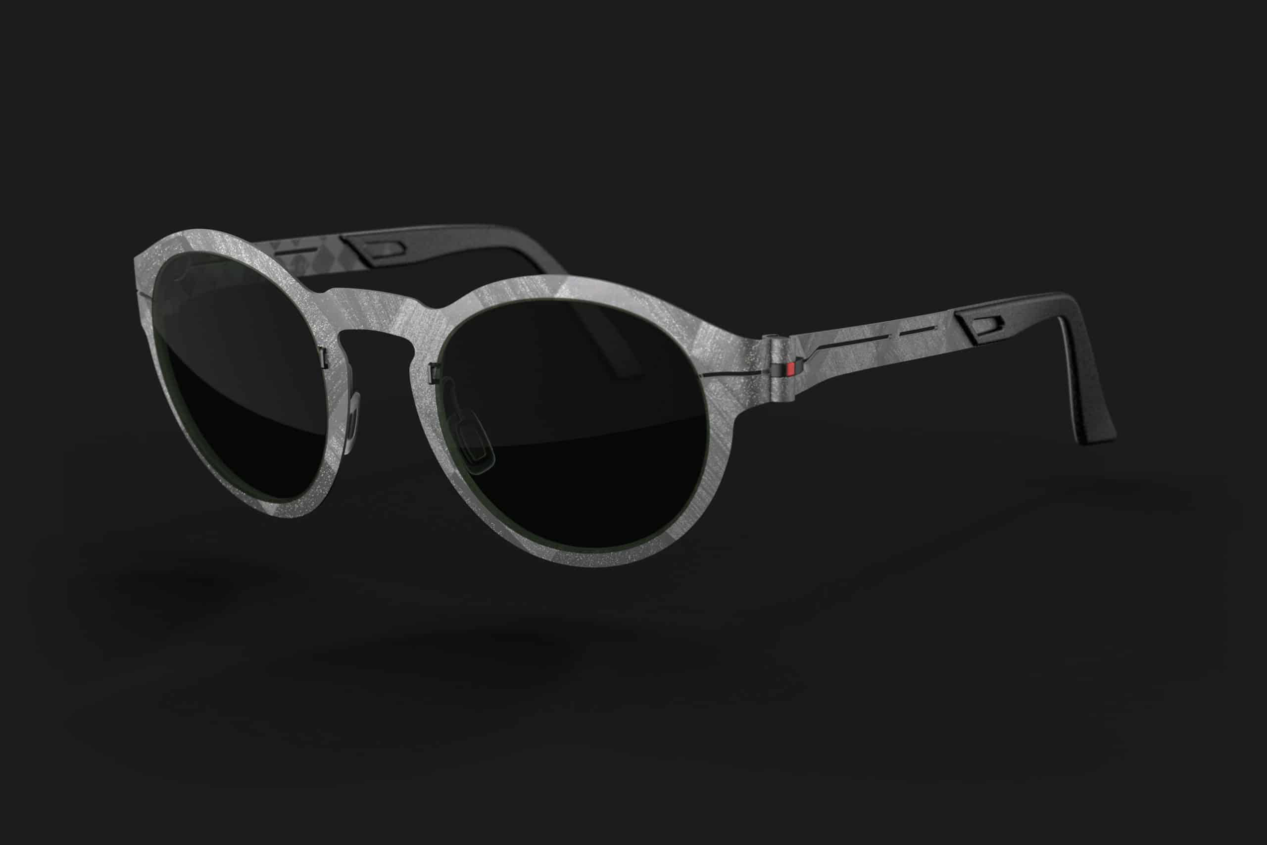 CARB-022-sun in raw star carbon sunglasses