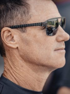 Matt Hall with Kerl CARB-015 Carbon sunglasses