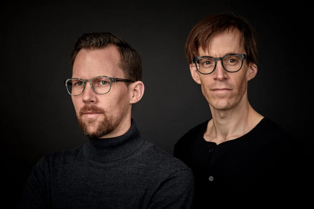The Kerl Eyewear founders and engineers Dr. Jaromir Ufer and Dr. Johannes Dillinger
